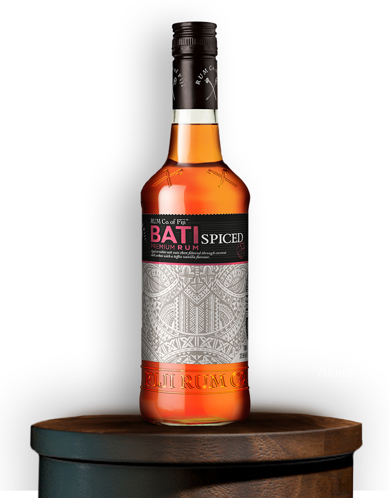 Bati spiced rum co of fiji for Mix spiced rum with