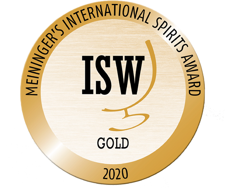 Gold–2020Meininger'sInternational Spirits Awards Medal